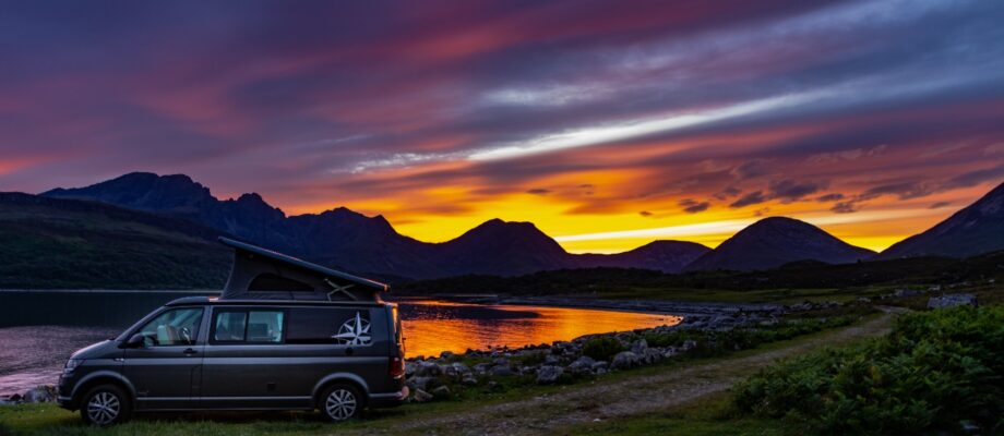 Why You Should Choose A Campervan Road Trip For Your Honeymoon