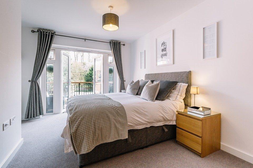 Bedroom, Interior Design, House, Room, Bed, Interior